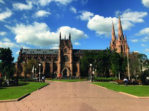 St Mary's Cathedral Hyde Park Sydney